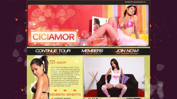 Ciciamor Membership Account