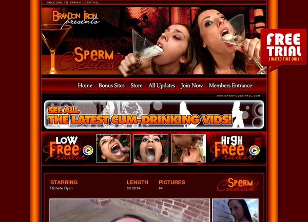 Discount Sperm Cocktail Offer