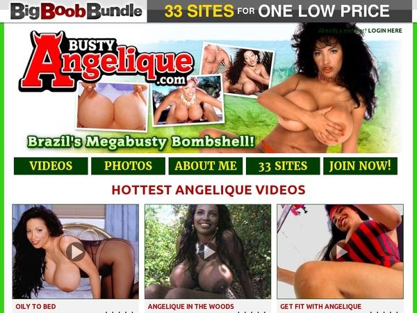Free Account On Bustyangelique