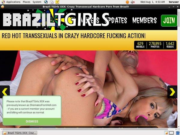 Gratis Brazil TGirls XXX Konto