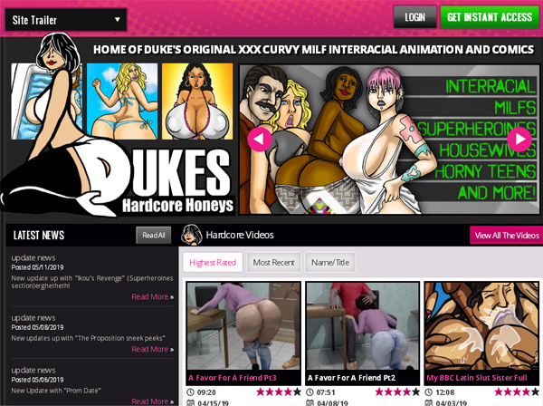 How To Get Free Dukeshardcorehoneys.com Account