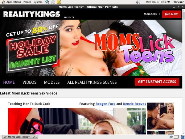 Momslickteens.com Limited Sale