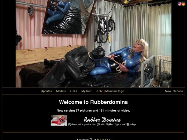 Rubber Domina Discount Codes