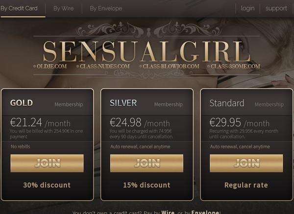 Sensualgirl.com Account