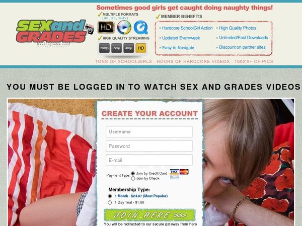 Sexandgrades.com New Videos