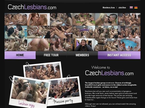 Czech Lesbians Paypal Sign Up