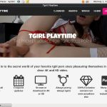 Tgirl Play Time Discount Page
