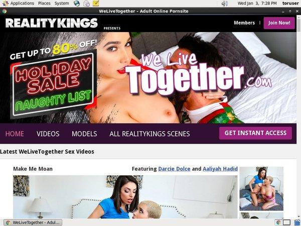 We Live Together Billing Page