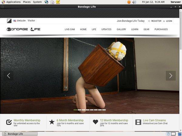 Bondage Life Take Paypal