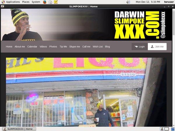 Darwin SLIMPOKE XXX パスワード