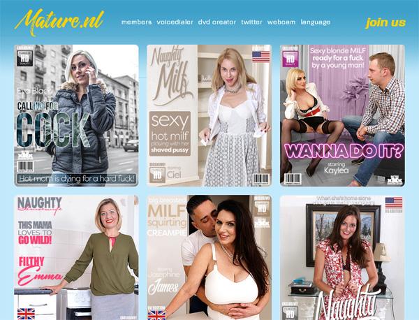 Discount Mature.nl Promotion
