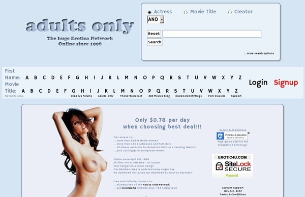 Adults Only Site Rip New