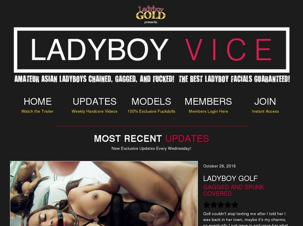 Ladyboyvice Join By EU Debit
