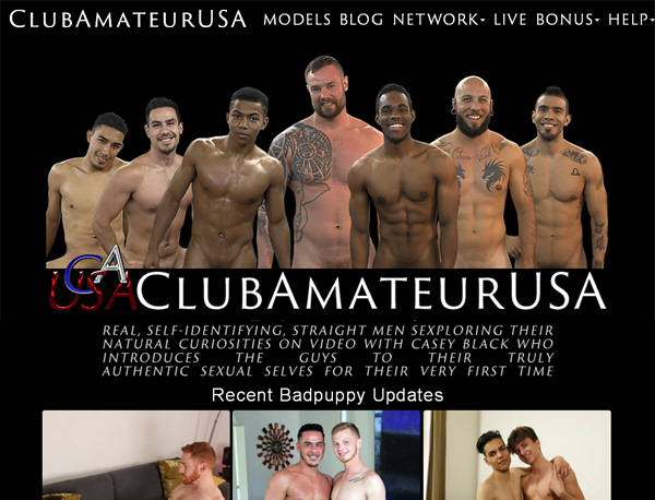 Club Amateur USA Account Blog