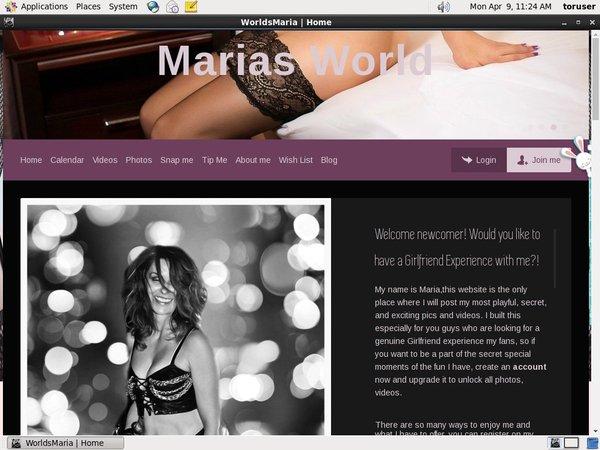 Worldsmaria.com Wire Payment