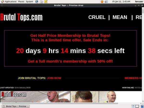 Brutaltops.com Offer