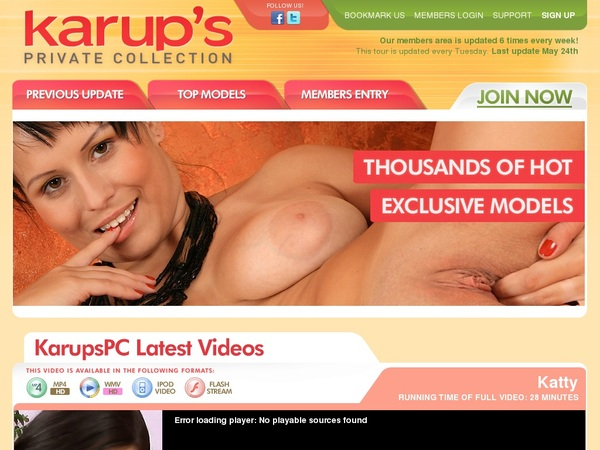 Karupspc.com With Paypal Account