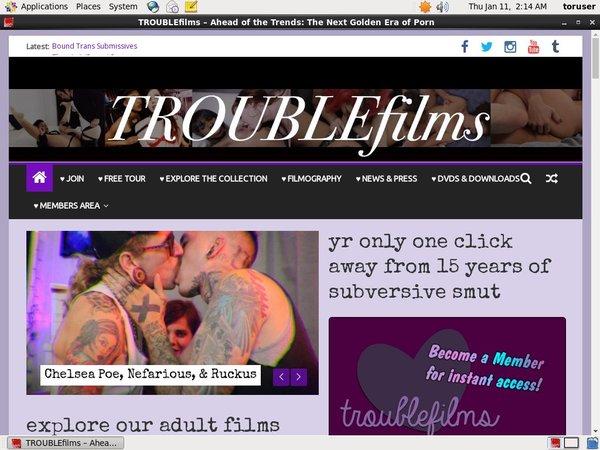 Register Trouble Films