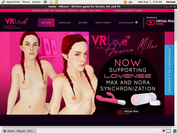 VR Love Pay Site