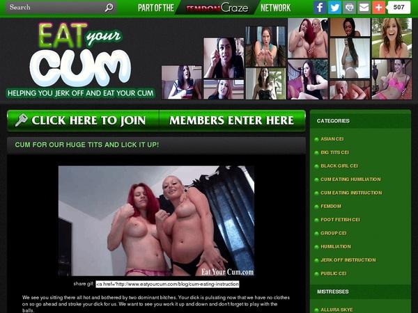 New Eat Your Cum