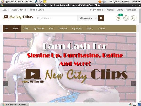 Free Accounts New City Clips