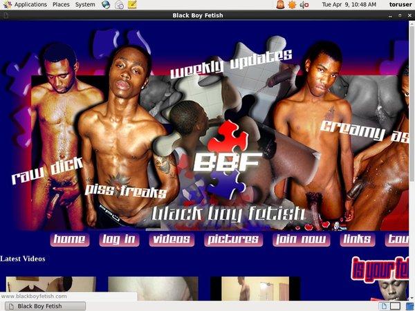 Blackboyfetish.com Registration Form