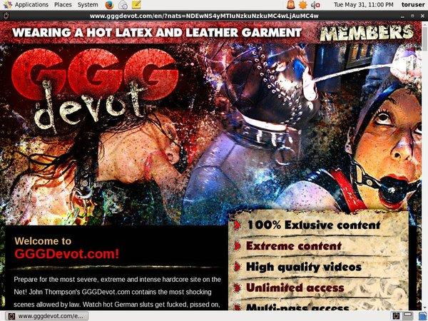 Gggdevot.com Contraseña