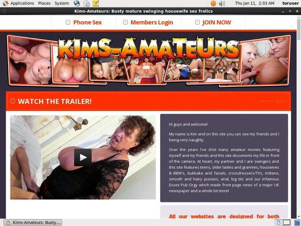 Kim's Amateurs Freebies