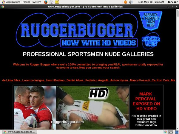 Rugger Bugger With Directpay