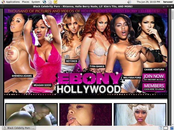 Ebony Hollywood Page