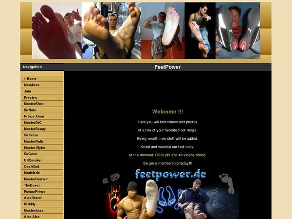 Feet Power Account Free
