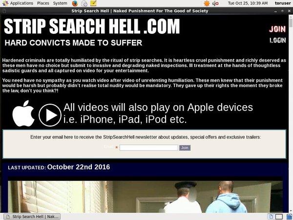 Free Strip Search Hell Premium Login