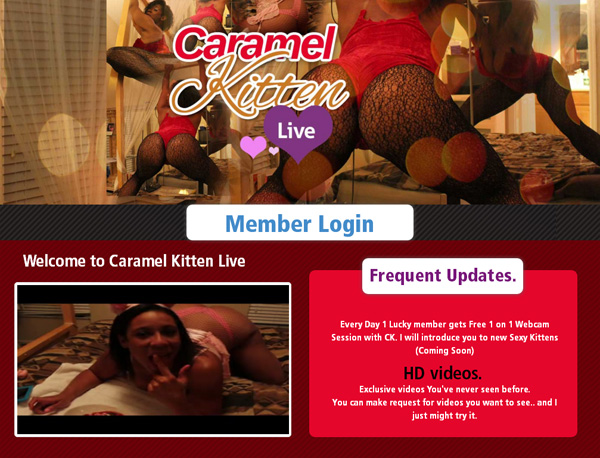 Login Caramel Kitten Live Free Trial