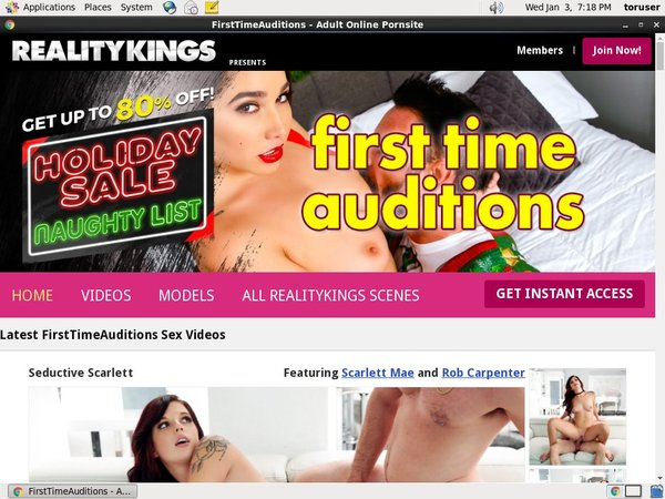 Save On Firsttimeauditions Trial