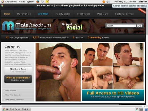 His First Facial Paypal