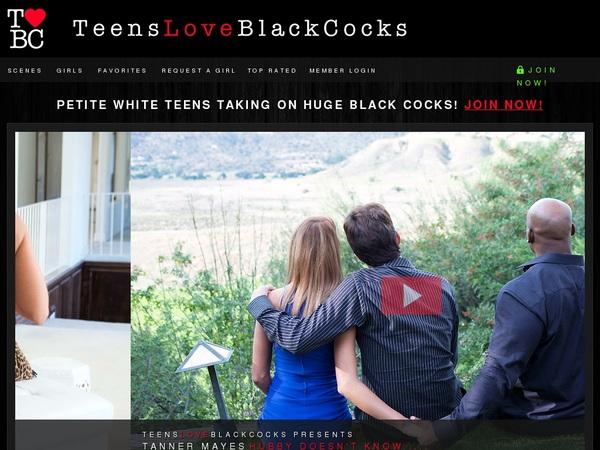 Log In Teens Love Black Cocks