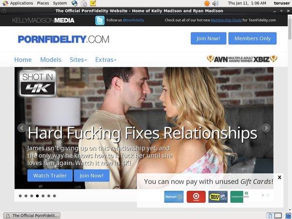 Porn Fidelity Join Again