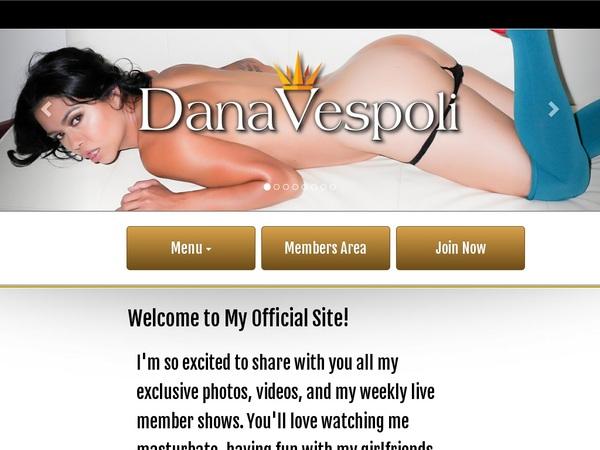 Dana Vespoli Paypal Order