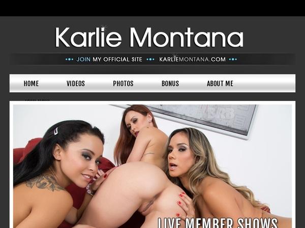 Karlie Montana Free Trial 2018
