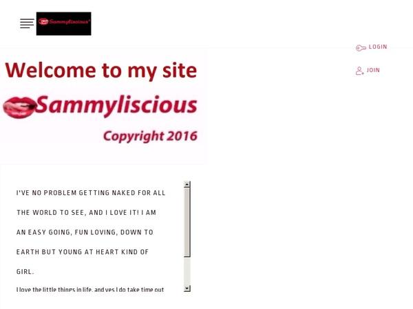 New SAMMYLISCIOUSxx Account