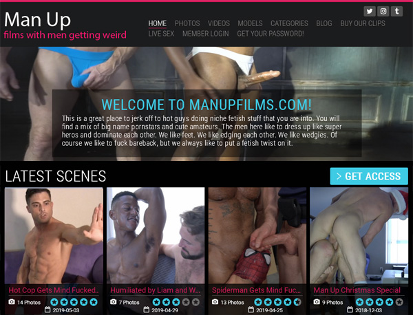 Man Up Films Discount Offers