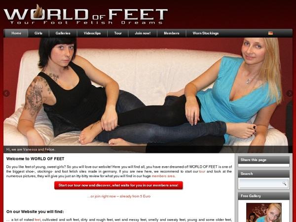 World-of-feet.net Pay Site