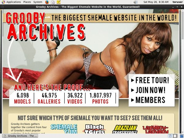 Grooby-archives.com Sale