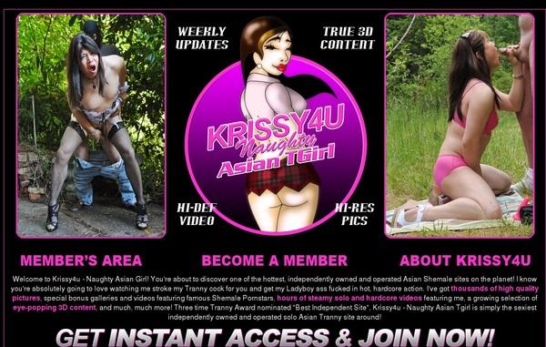 Krissy 4 U Free Premium Account