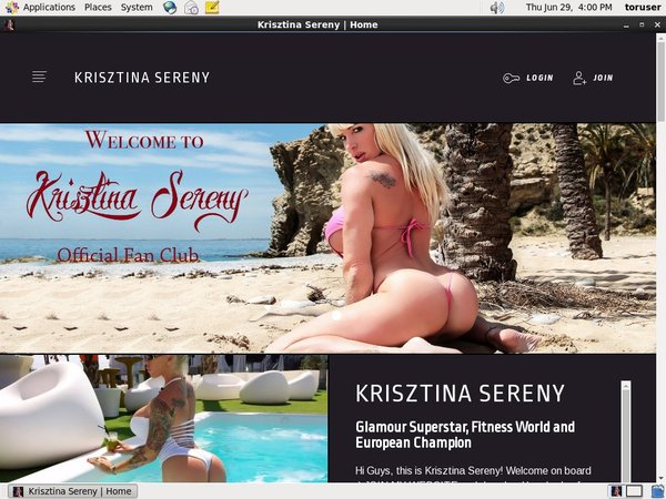 KrisztinaSereny Free Accounts