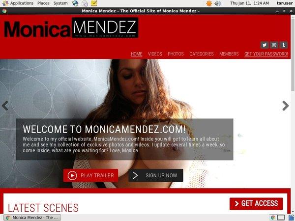 Monica Mendez Discount Page