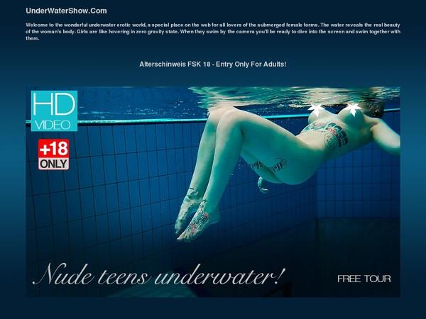 Underwatershow Logins