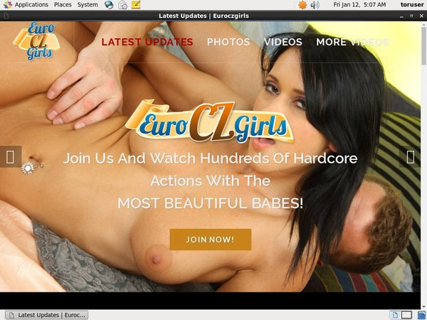 Subscribe To Euroczgirls.com