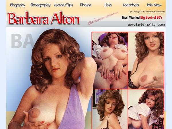Barbara Alton Trial Access