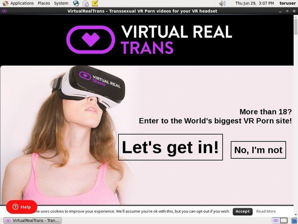 Free Virtual Real Trans Trial Membership